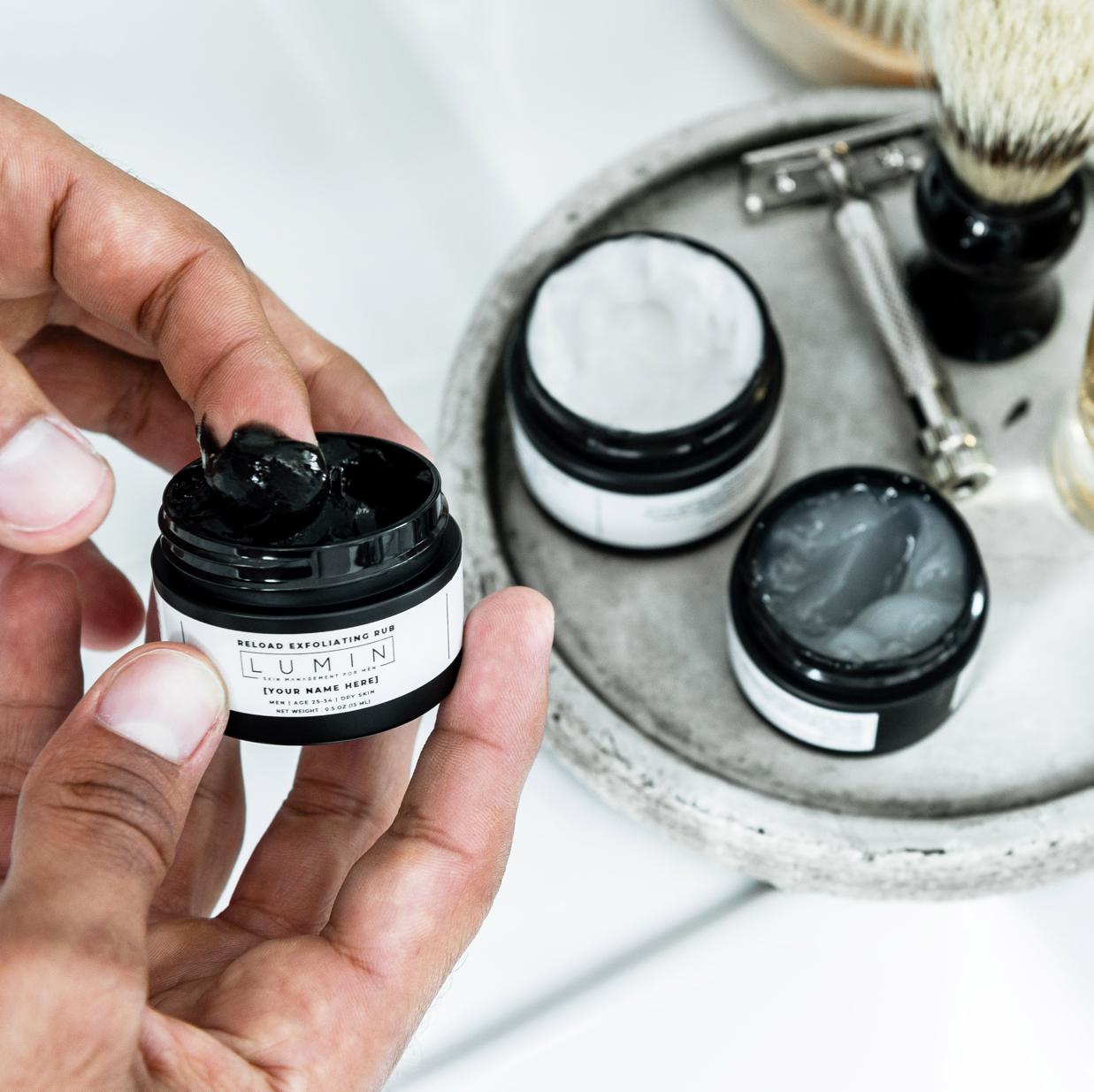 Free Trial Lumin Men Skin Care Routine Mens Skin Care Anti Wrinkle Serums