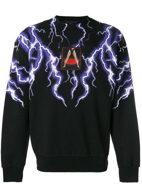 fd34be68 ALEXANDER WANG lightning collage sweatshirt. #alexanderwang #cloth ...