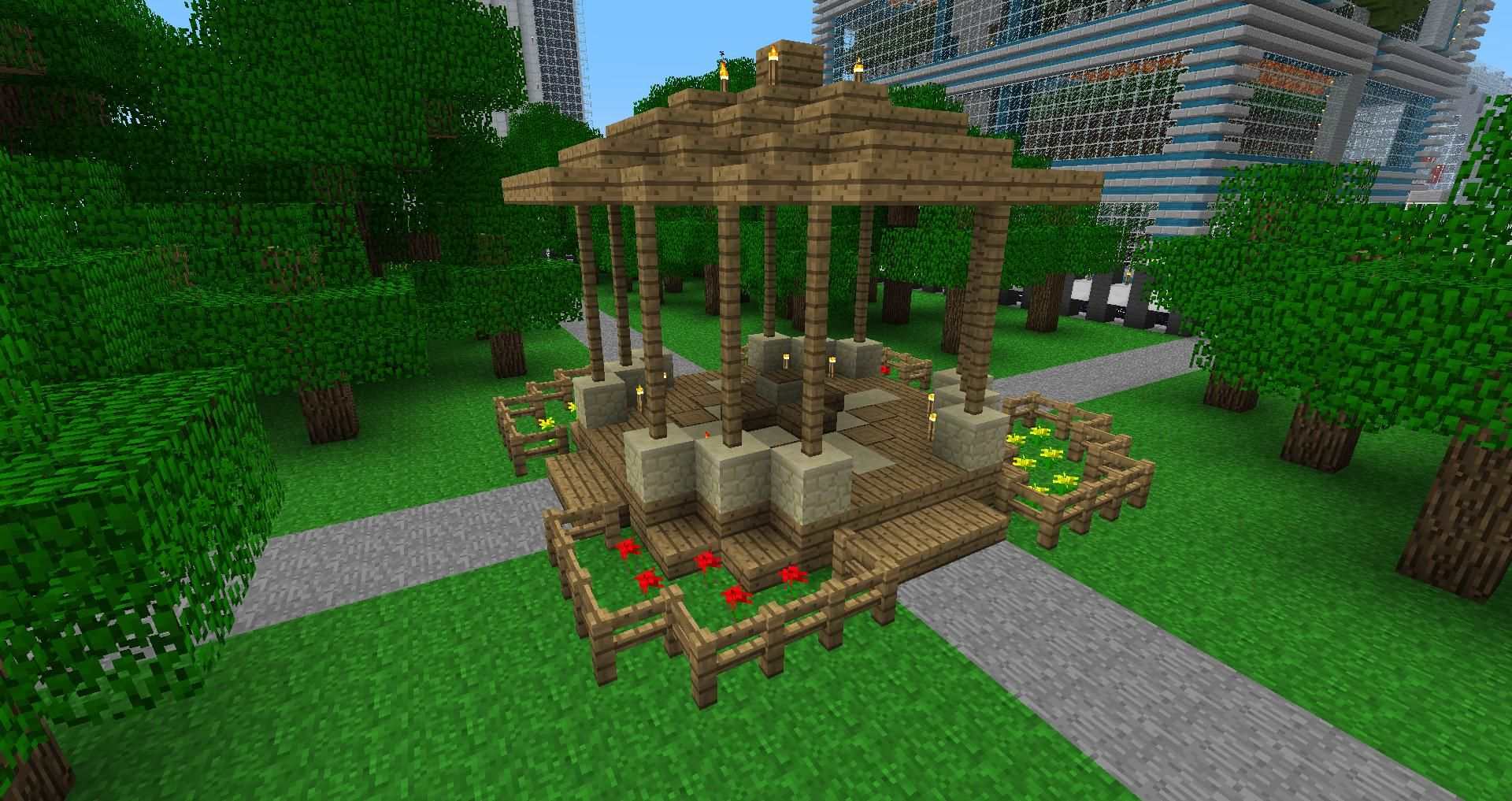 i saw a ravine had to do this minecraft ideas stuffing and minecraft funny - Minecraft Pe Garden Ideas