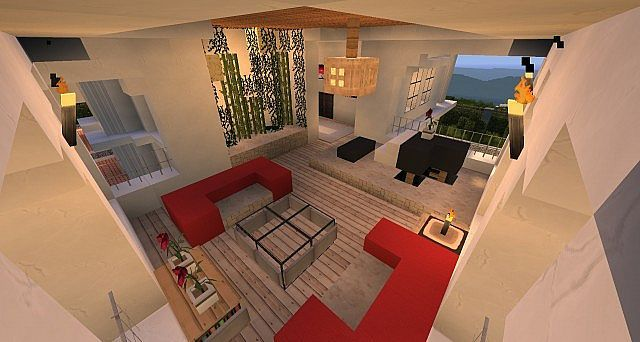 Hollywood Style  Minecraft House  Builder's Guide Mine Craft Adorable Minecraft Modern Kitchen Designs Decorating Design