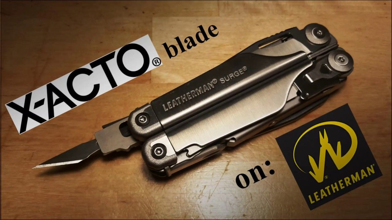 Small yet effective adapter on your leatherman surge for
