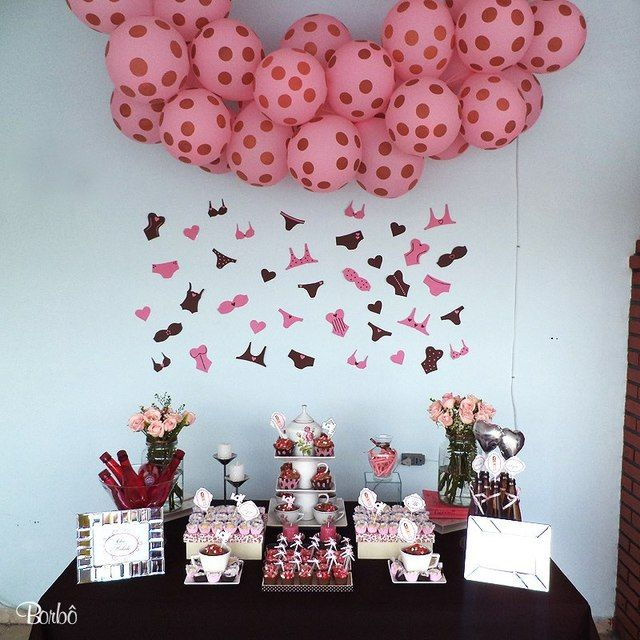 Pink And Brown Wedding Ideas: Pink And Brown / Bridal/Wedding Shower / Featured Photo