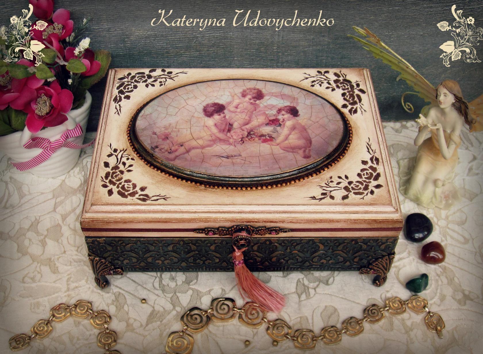 Деревянные декоративный ящик своими руками