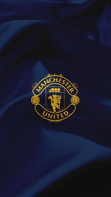 List of Beautiful Manchester United Wallpapers Backgrounds Il Manchester United, Premier League, calcio, MU emblema, in Inghilterra, in seta blu