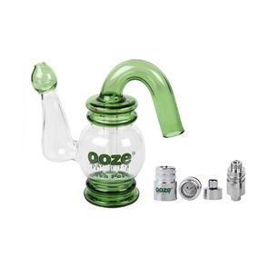 Ooze Tea Pot Water Bubbler Vaporizer  Designer Glass Dab Attachment