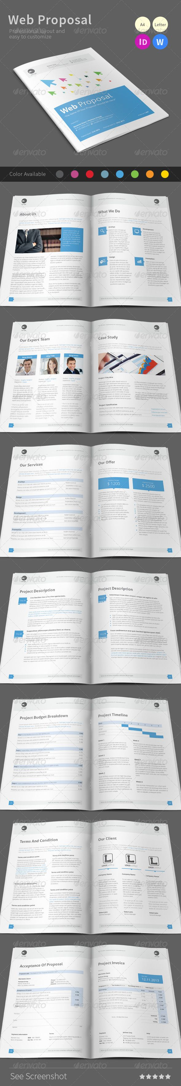 Web Proposal Web Proposal Proposals Business