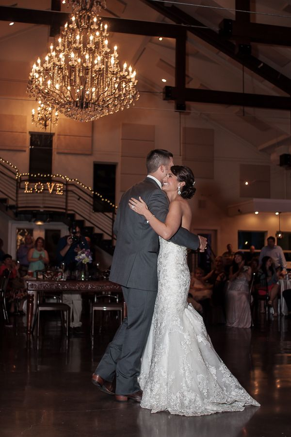 First Dance During Wedding Reception At The Lodge Bridal Veil Falls