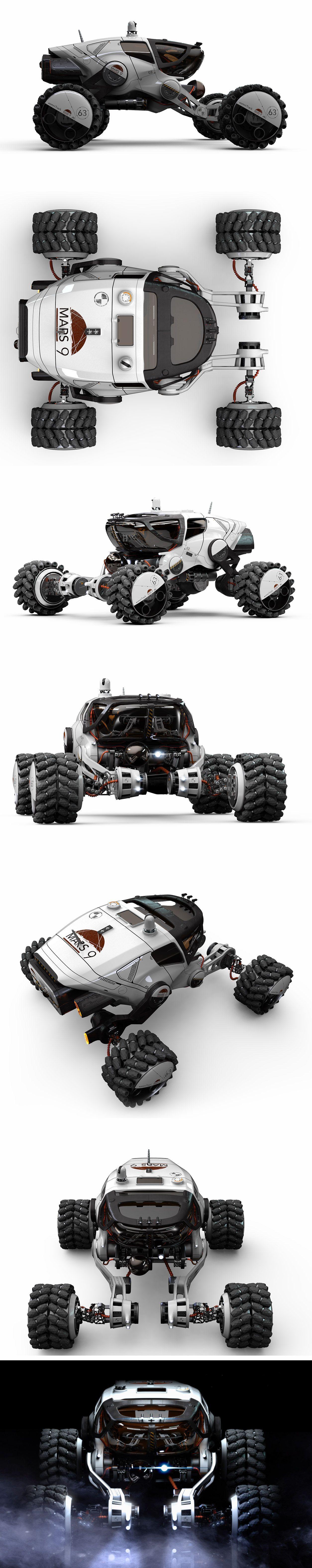 Mars 9 rover by Igor Sobolevsky (With images) Futuristic