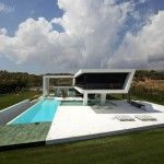 Athens House – Like a Yacht Above the Pool  Read more: http://www.homevselectronics.com/h3-athens-house-like-a-yacht-above-the-pool/#ixzz2j8UoCz5p