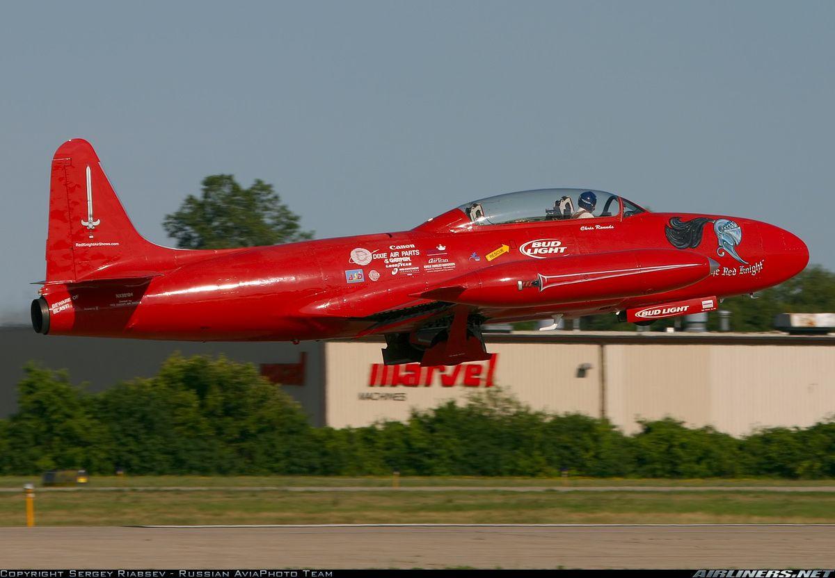 EAA AirVenture 2005. - Photo taken at Oshkosh - Wittman Regional  Lockeed  T-33 Tbird