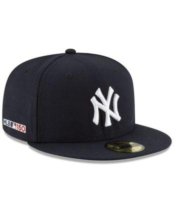 58ebb42b New Era New York Yankees 150th Anniversary 59FIFTY-fitted Cap - Blue ...