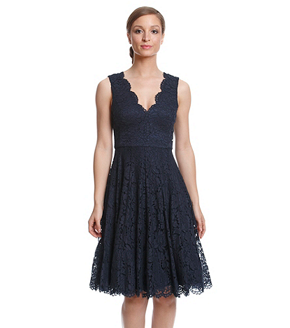 Vera Wang Lace Fit And Flare Dress Bon Ton A Formal Affair
