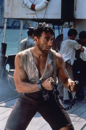 The Quest.  Jean Claude Van Damme.  We shoot on board a boat in the Phuket area were that famous Sunami destroyed the town.  #josephporrodesigns