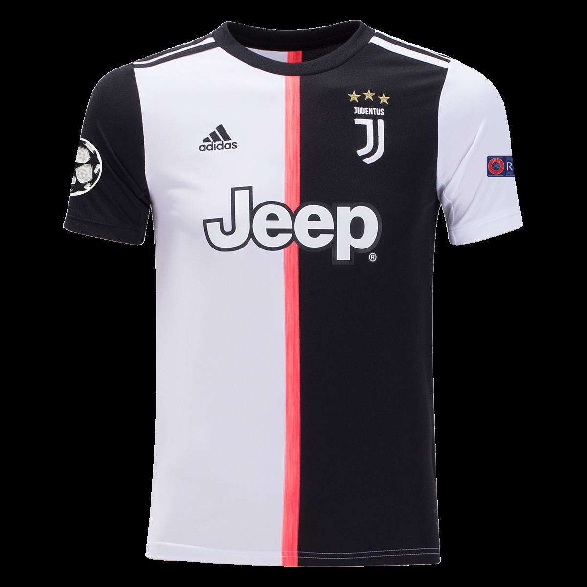 Official Juventus Football Away Shirt Jersey Tee Top 2018 19 Kids adidas