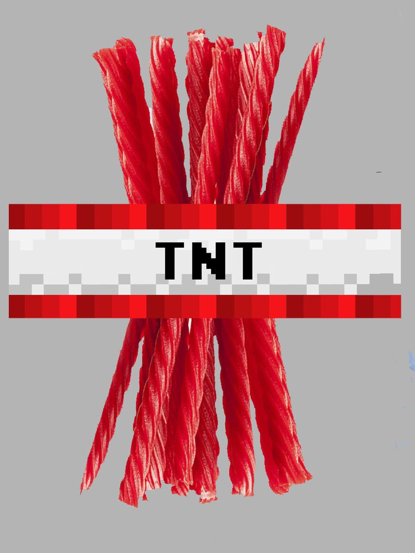 This is a photo of Selective Minecraft Tnt Printable