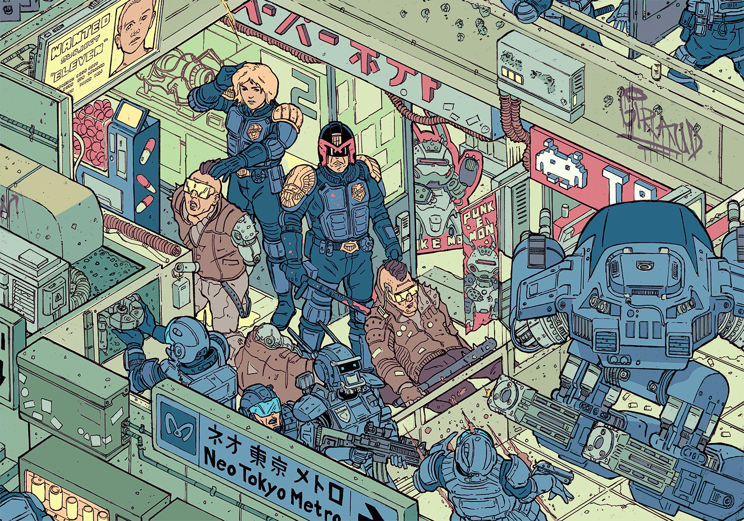 """The Raid"" – Section 2 by Josan Gonzalez & Laurie Greasley"