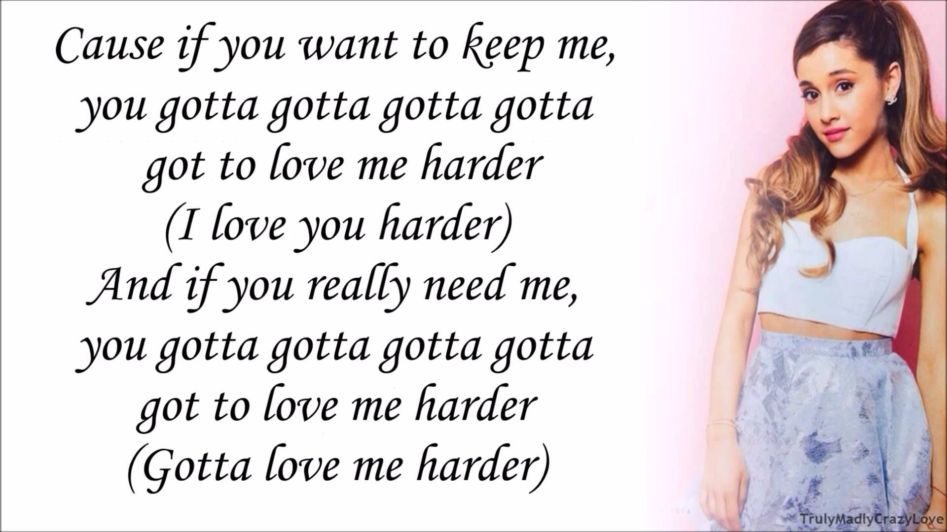 Ariana Grande feat. The Weeknd - Love Me Harder (with ...