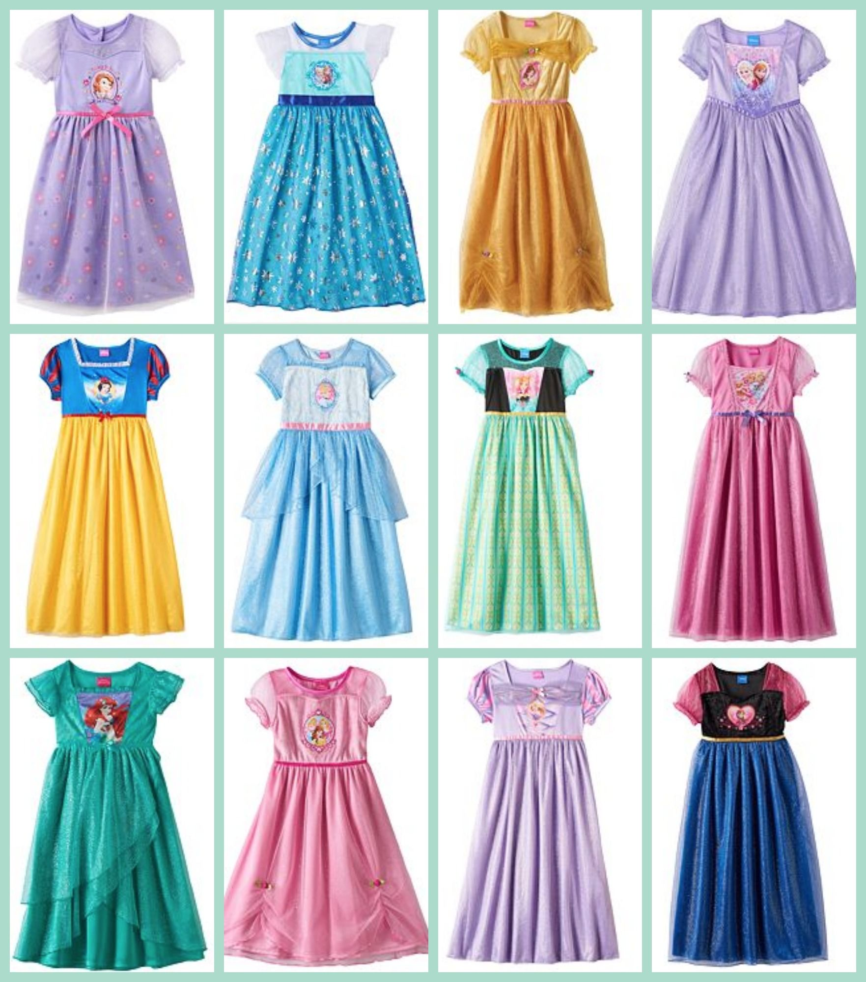 Fashion style Dress Princess up clothes for lady