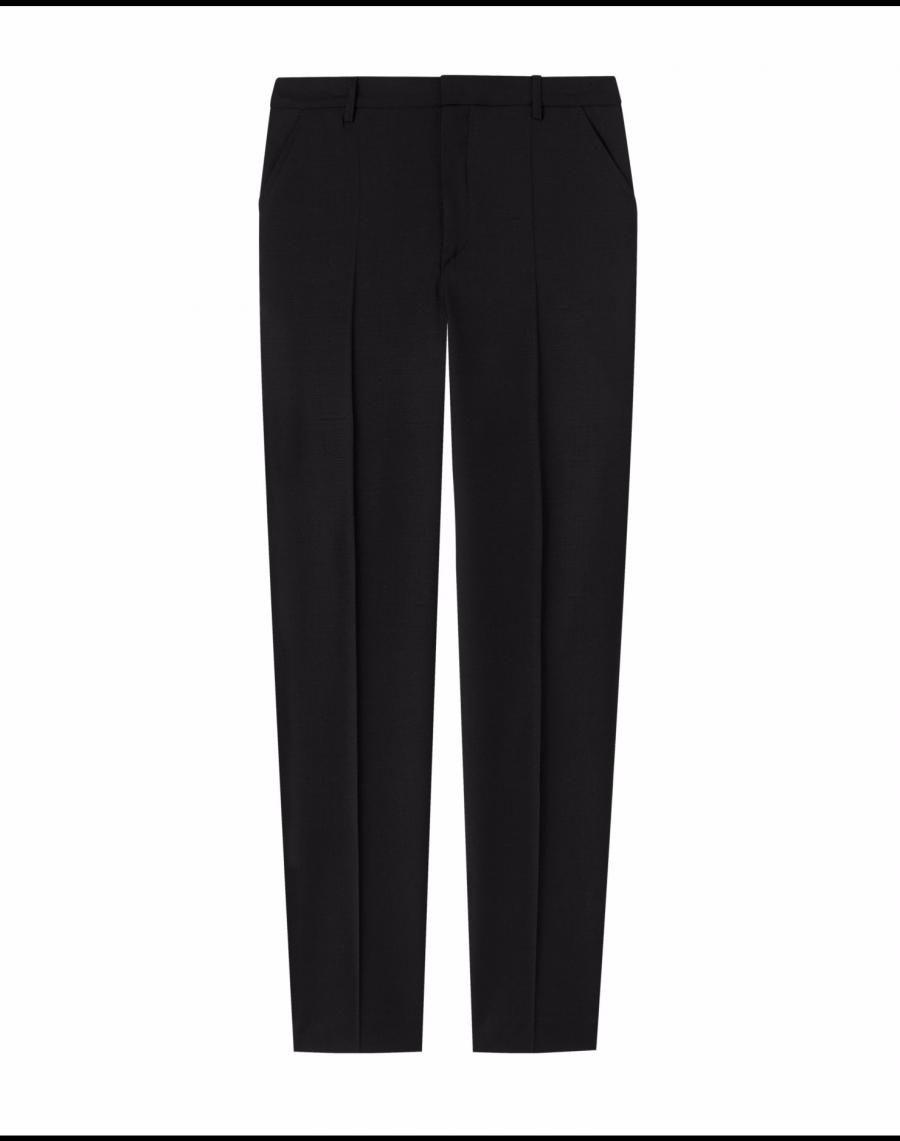 Fiona Peg Cool Wool Slacks - Black - Filippa K - Designers Well Made Clothes