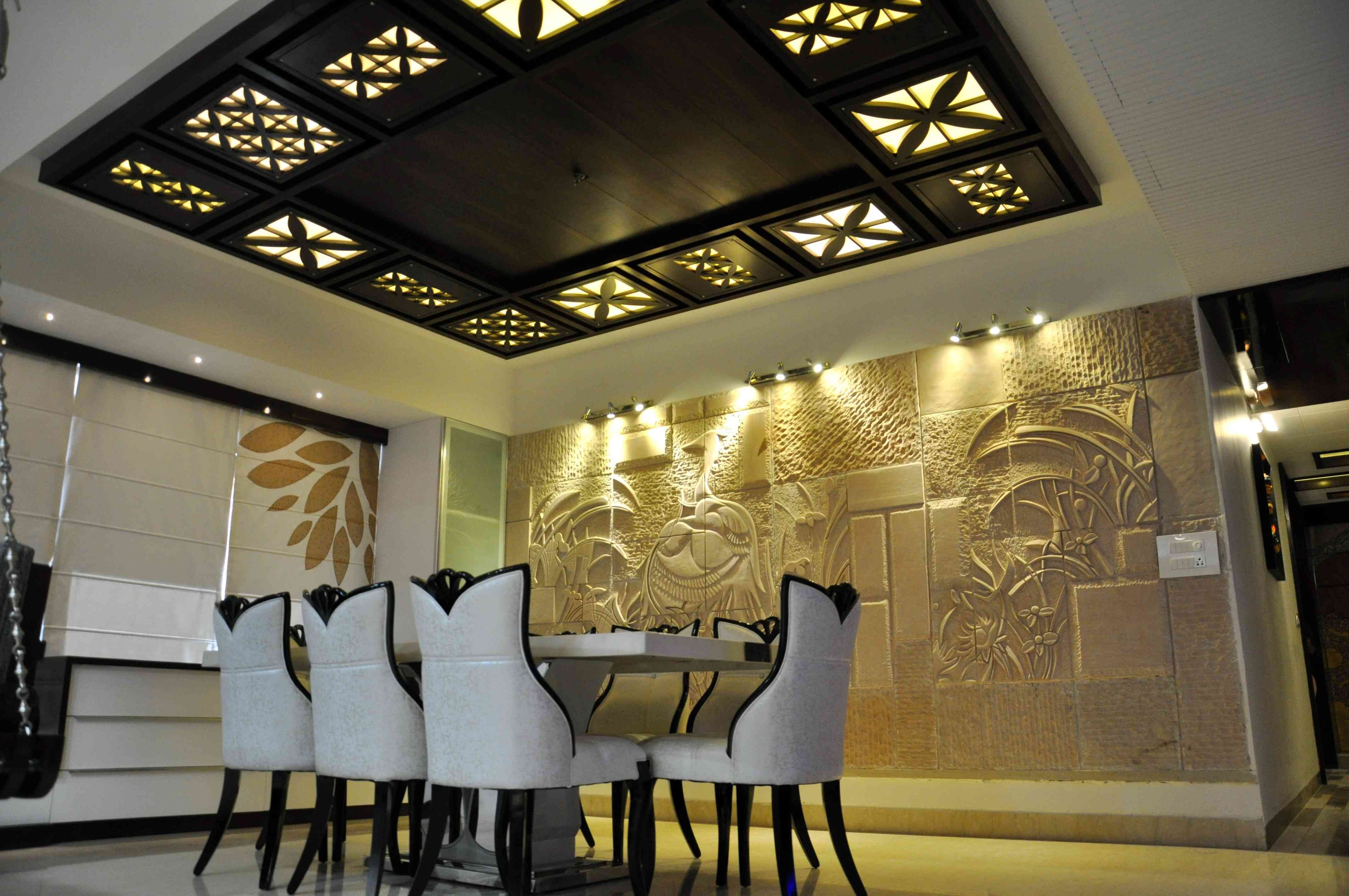 False Ceiling Designs Living Room India