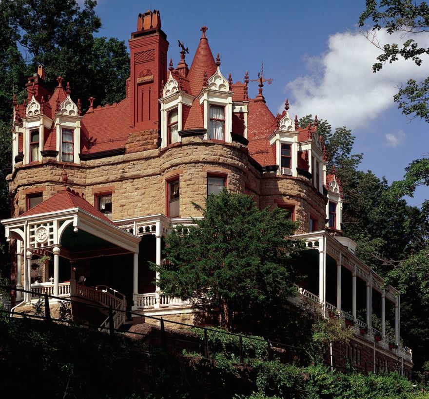 The 1886 Burrell Overlook Mansion In Little Falls, NY