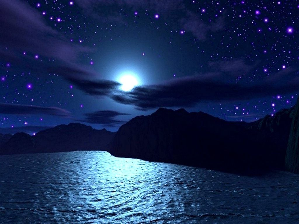 ocean night wallpapers hd wallpaper pinterest