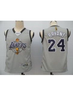 Package - mail cheap jerseys!LA Lakers 24 Bryant Gray Jerseys 2010 Finals Commemorative Edition