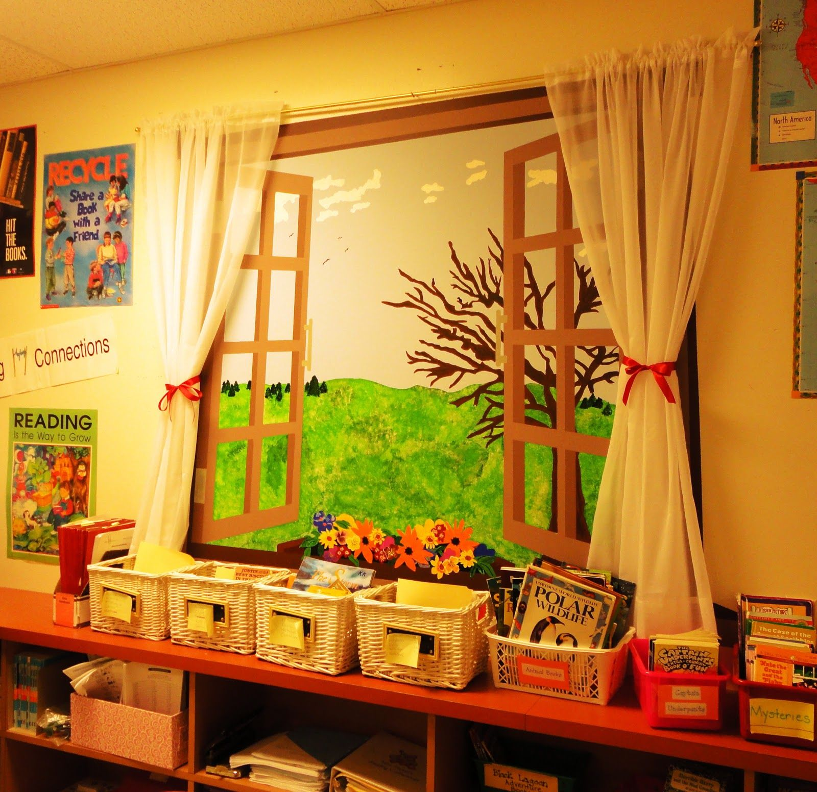 Wall Decoration Ideas For Classroom : Inexpensive wall decor for high school classroom