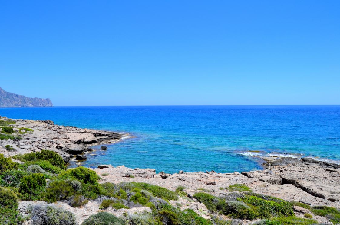 Sandy Beachilta voi lähteä myös pienelle patikkaretkelle näihin maisemiin.  #Paleohora #SandyBeach #Aurinkomatkalla #Aurinkomatkat #Kreeta