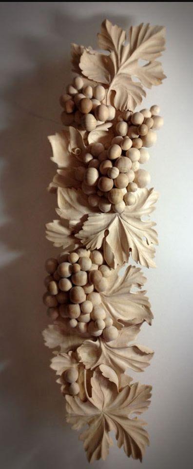 Alexander grabovetskiy grape wood carving ahşap oyma