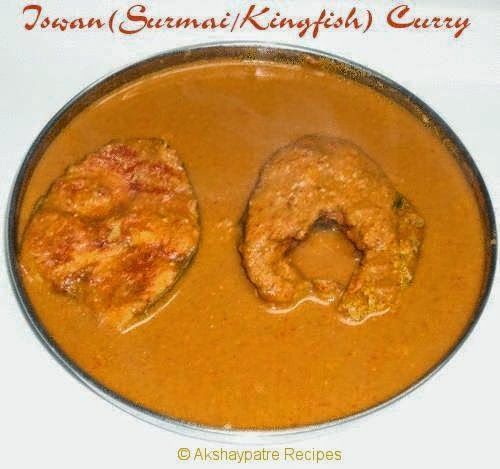 recipe: king fish curry mangalorean style [26]