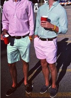 Image result for Hamptons people in madras bermuda shorts pics