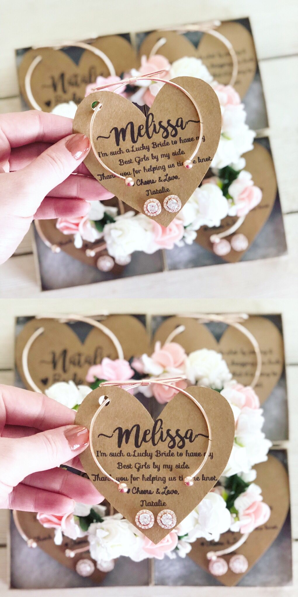 Affordable bridesmaid gifts! & Affordable bridesmaid gifts! | Personalized Bridemaid Gifts in 2019 ...