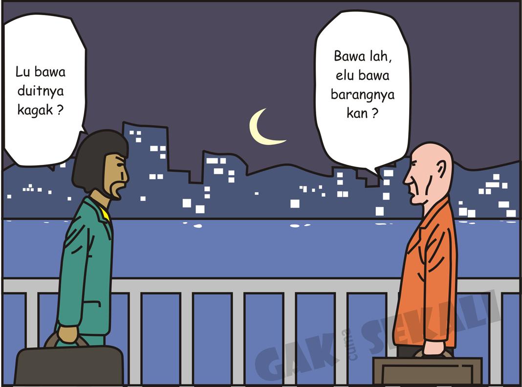 Komik Lucu Pengedar Narkoba Dan Uang Palsu