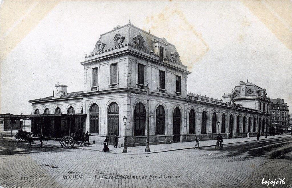 Rouen - Gare D U0026 39 Orl U00e9ans
