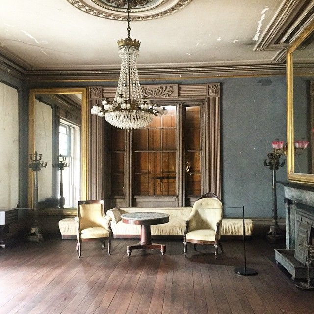 Aitkenrhett House Double Drawingroom Fadedglory 1850