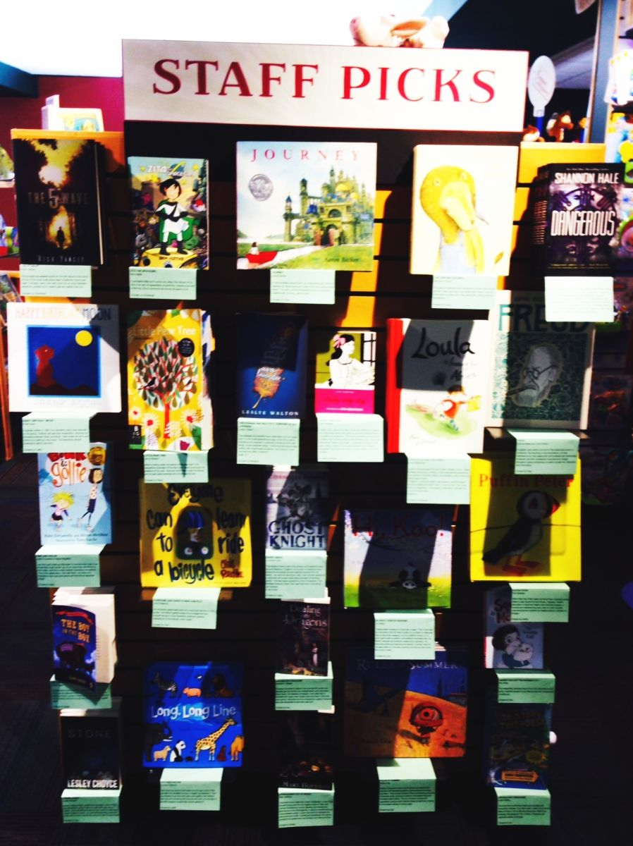 Our ForKids Staff Picks in the Winnipeg store! Look for