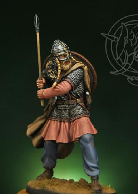 Viking Chieftain figurine, by Romeo Models. http://www.romeomodels.com/