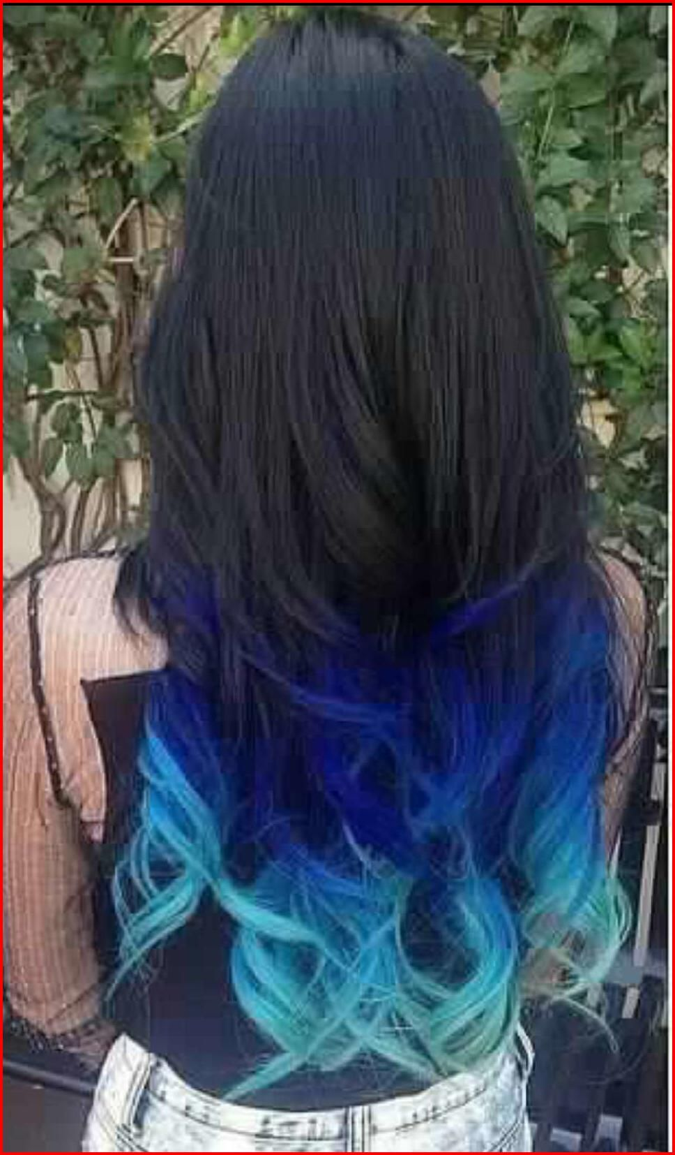 50 Blue Hair Highlights Ideas Blue Highlights Are Becoming More And More Popular As People Become More Ad Blue Hair Highlights Blue Tips Hair Short Hair Color