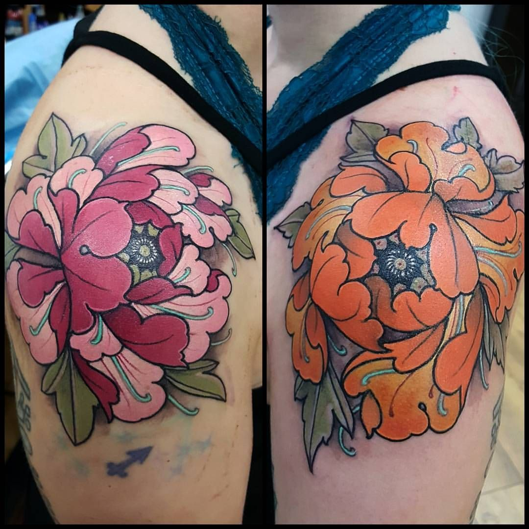 12++ Astonishing Peony flower tattoo shoulder ideas in 2021