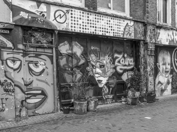 Graffiti Spuistraat
