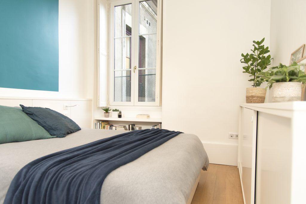 Design D Interieur Un Appartement En Location A Nantes En 2020 Interieur Design Decoration Appartement Appartement Chambre