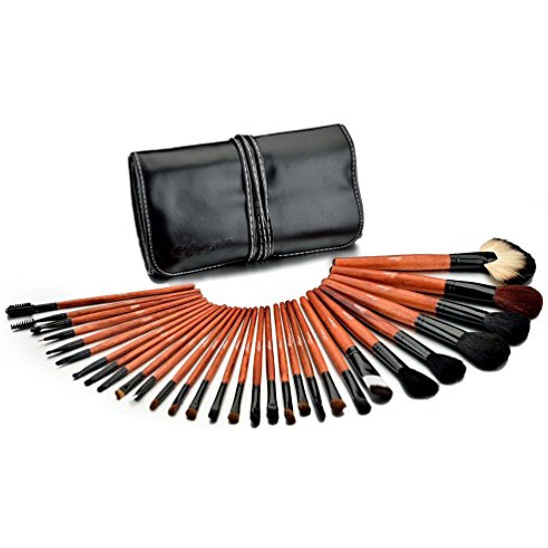 Fraulein3°8 Pro 30Pcs Make Up Makeup Brushes Set With