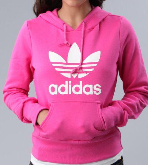Pink Adidas hoodie :)