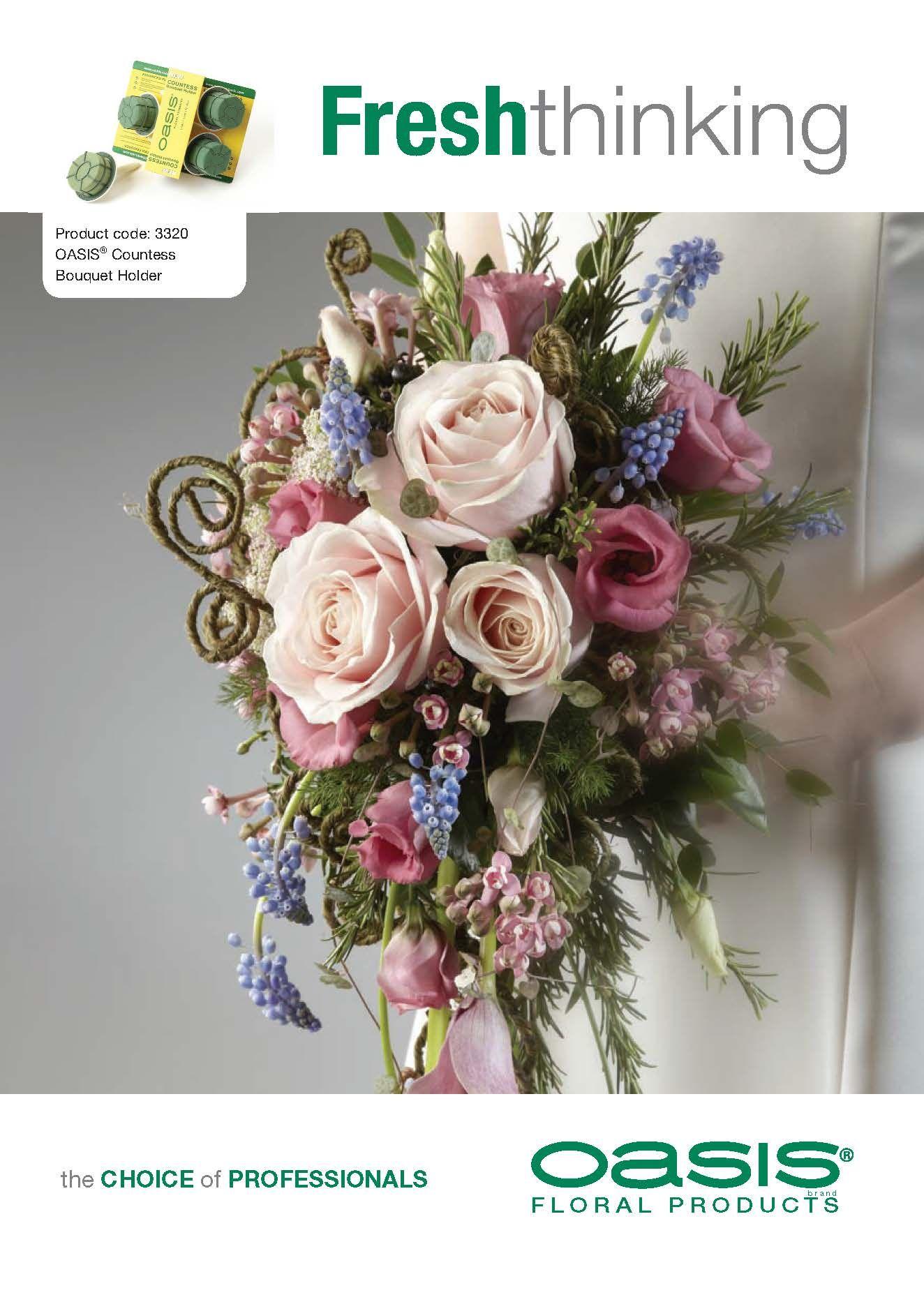 Wedding bouquet made using oasis countess bouquet holder wedding wedding bouquet made using oasis countess bouquet holder izmirmasajfo