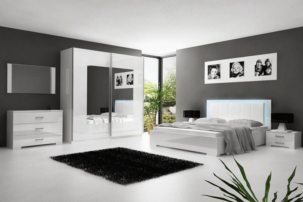 chambre-a-coucher-adulte-blanc-laque-avec-eclairage-led-30.jpg ...