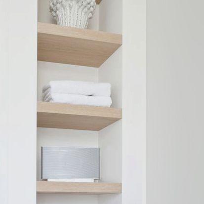 wandplank badkamer - Google zoeken - Badkamer | Pinterest - Schappen ...
