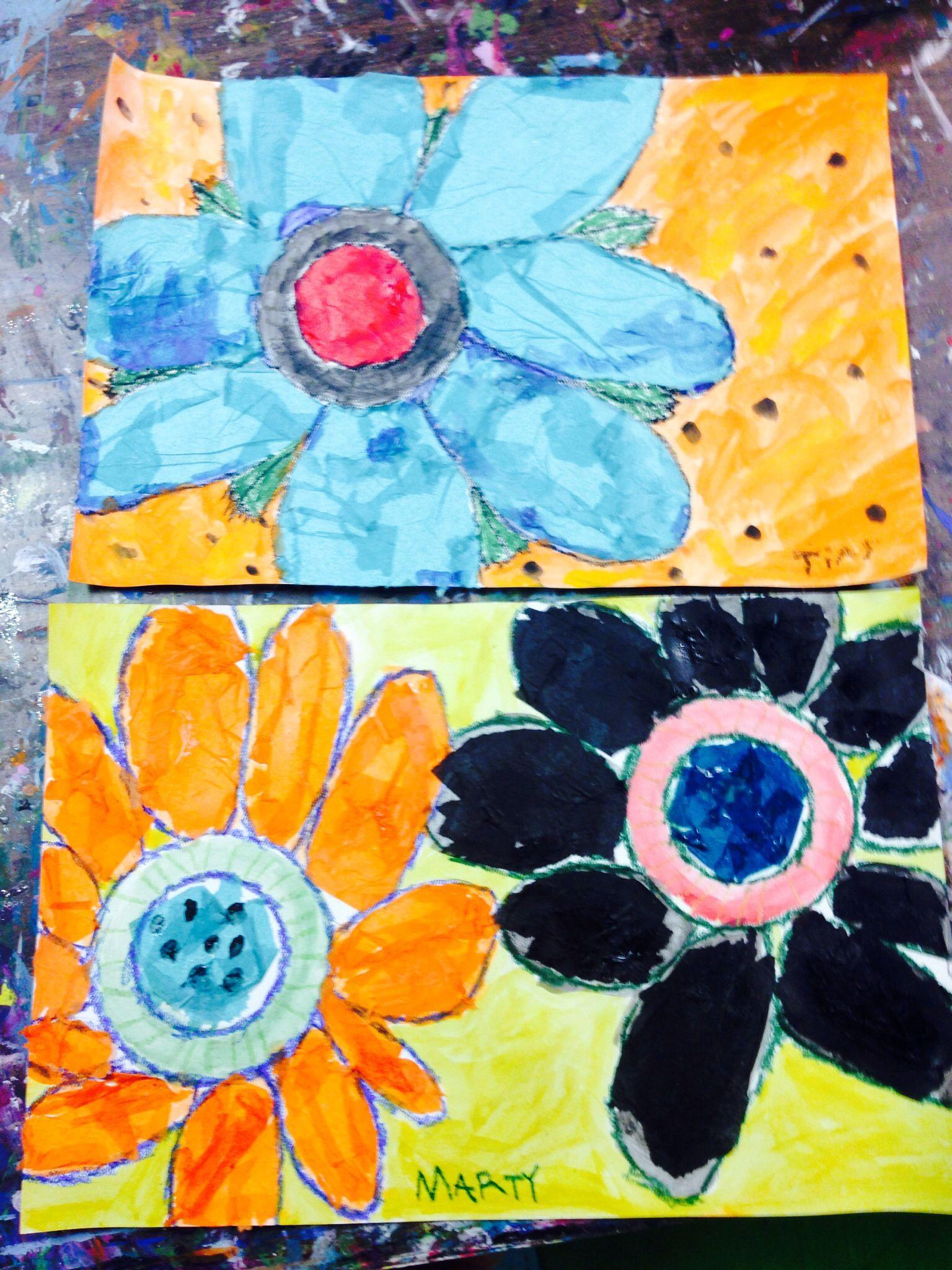 Oil Pastel Art For Kindergarten