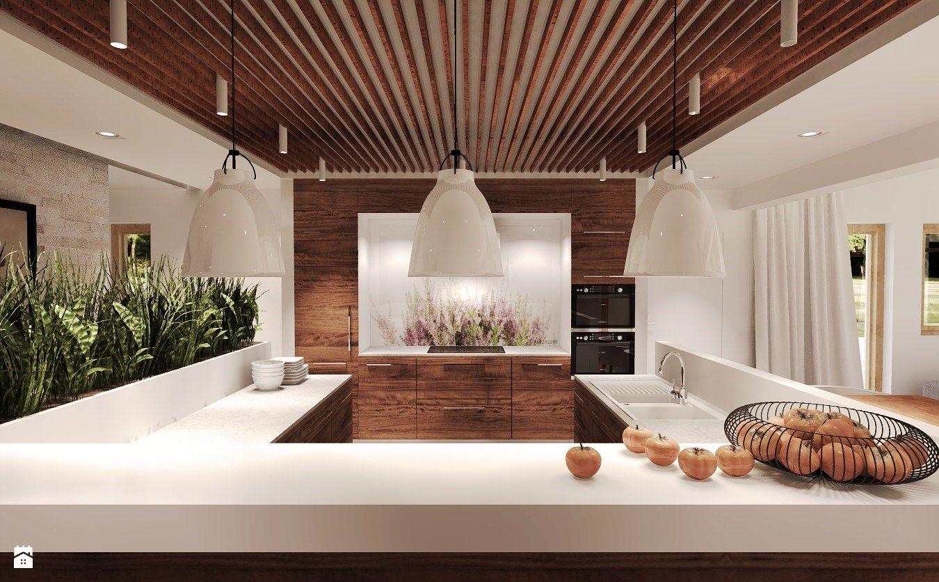 Otwarta kuchnia w bieli hola design homesquare - Kuchnia Styl Rustykalny Zdj Cie Od Agata Hann Architektura Wn Trz Kuchnia Styl Rustykalny