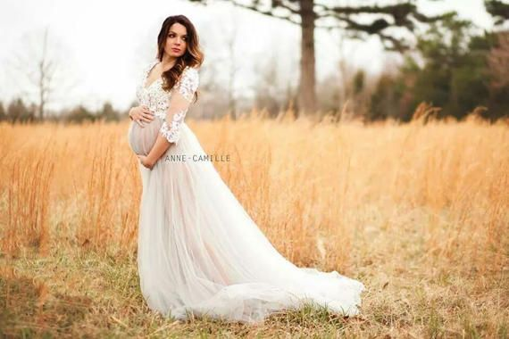 ec279511ea338 Aurora- Tulle Gown, Photography dress, Maternity gown, Maternity bridal,  Princess dress, bridal, boudior, photography prop, Photoshoot gown